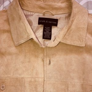 Vintage Never used Croft & Barrow Suede Jacket
